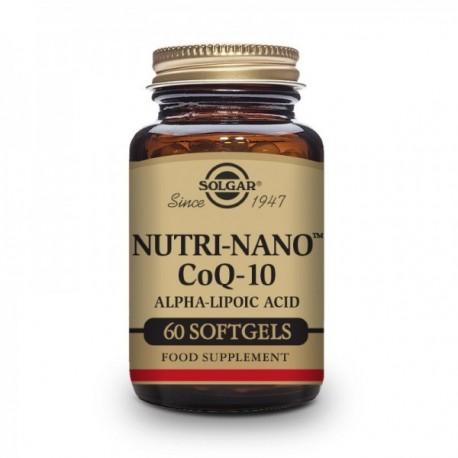 NUTRI-NANO COENZIMA Q10 60 PERLAS SOLGAR
