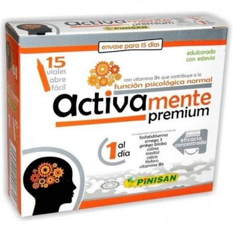ACTIVAMENTE PREMIUM 15 VIALES PINISAN