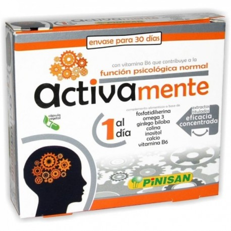 ACTIVAMENTE 30 CÁPSULAS PINISAN