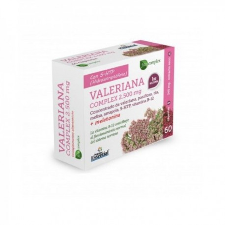 VALERIANA COMPLEX 2500 MG. EXT. SECO 60 CAP. NATURE ESSENTIAL