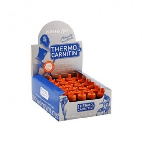THERMOCARNITIN XL CAJA 30 VIALES POWERGYM