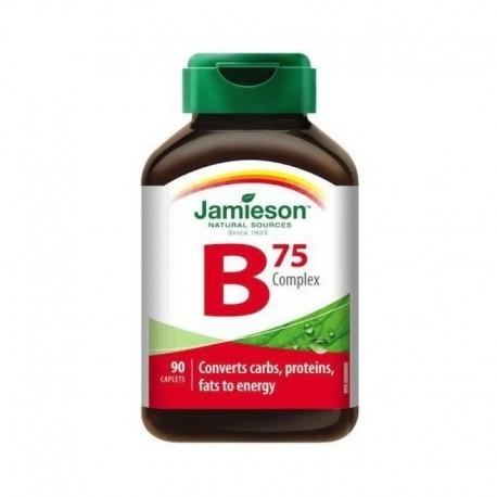 VITAMINA B COMPLEX 75 90 COMPRIMIDOS JAMIESON