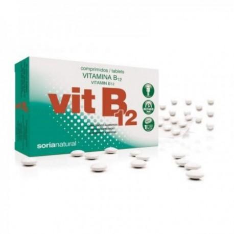 Vitamina B12 Retard 200 mg 48 Comprimidos Soria Natural