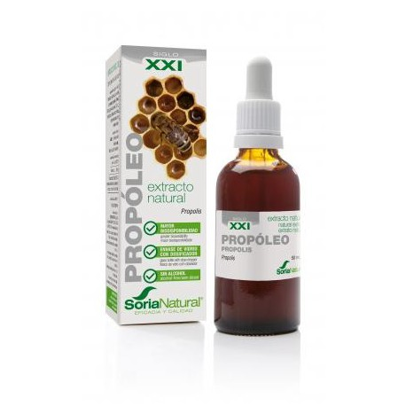 EXTRACTO NATURAL PROPOLEO XXI 50 ML SORIA NATURAL